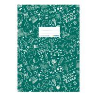 A Schooldoo A5 borító sötétzöld / 1db