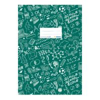Borító könyve Schooldoo A4 sötétzöld / 1db