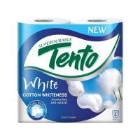 Toaletpapír Tento White, 2-rétegű/19 m, 4db/csomag