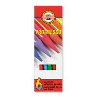 Színes ceruzák KOH-I-NOOR Progresso, 6 db készlet