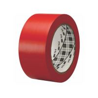 Ipari jelzőszalag 50 mm x 33 m, 3M, piros