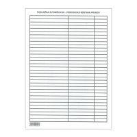 Sorvezető - Lamino A4 képletekkel - Periodikus táblázat
