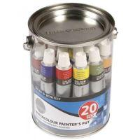 DR SMPL akvarelová sada Simply 20 x 12 ml
