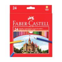 Ceruzák Faber-Castell 24 színt állítanak be