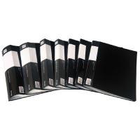 Gyűrűskönyv A4 80 lapos, fekete