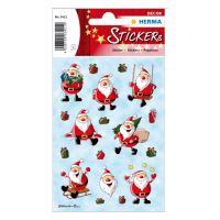 Vianočné etikety Magic - Christmas Santa Claus
