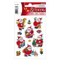 Karácsonyi matricák - mágikus- Christmas Happy Santa Claus