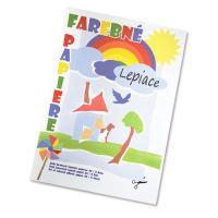 Zložka farebného papiera / 8 - samolepiace