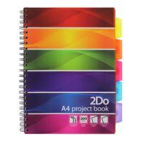 Project Book A4/200 oldalas, vonalas