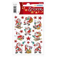 Vianočné etikety Magic - Santa Claus