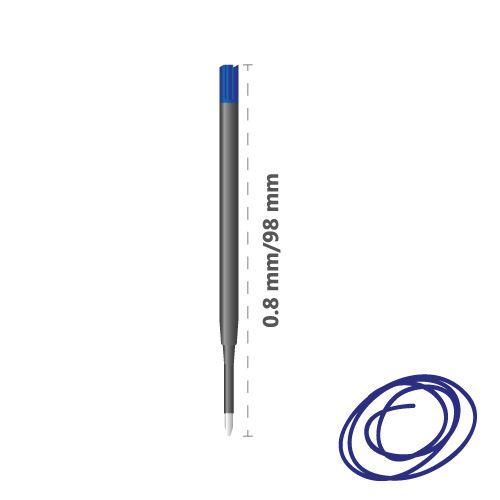 KOH-I-NOOR 4441 golyóstoll betét - kék