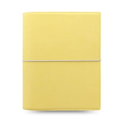 Diár Filofax A5 Domino Soft - pastelovo žltý