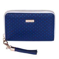 Peňaženka dámska Blue Triangles - malá