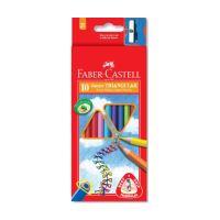 Ceruzák Faber-Castell Grip Junior 10 színben