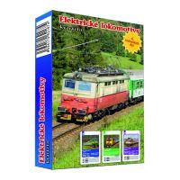 Karty hracie - Kvarteto - Elektrické lokomotívy