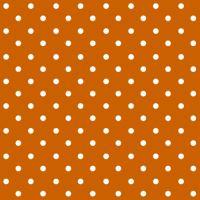 Szalvéta PAW L 33x33cm Dots Terracotta