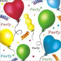 Papírszalvéta PAW L 33x33cm Party