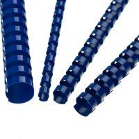 Hrebene plastové 6 mm modré