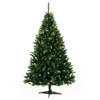Karácsonyfa Smrek - Konrad, zöld / brokát 150 cm