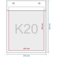 Légpárnás boríték K20, 370 x 480 mm (350 x 470)