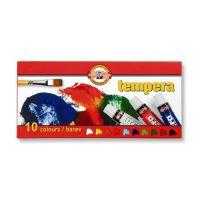 Tempera KOH-I-Noor 10 ml, 10 db készlet