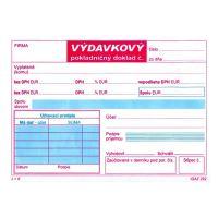 Výdavkový pokladničný doklad 2XDPH samoprepis (292)