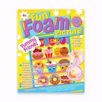"Penová dekorácia Fun Foam Picture ""Yummy Friends"""