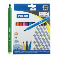 Filctoll MILAN 0,2mm - készlet 12db háromszögű